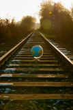 No perder de vista el mundo Imagen de archivo