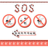 No pesky mosquitoes in the house. Stock Photos