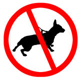 No pets royalty free stock photos