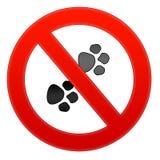 No pets allowed Stock Photos
