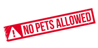 Free No Pets Allowed Rubber Stamp Royalty Free Stock Photo - 88027835