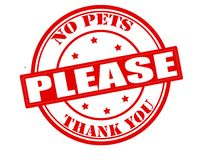 Free No Pets Please Stock Images - 109044304