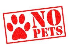 NO PETS stock illustration