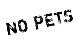 No Pets rubber stamp. Grunge design with dust scratches. Effects can be easily removed for a clean, crisp look. Color is easily changed Royalty Free Stock Photography