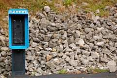 No phone available background-1. No phone available background - payphone Royalty Free Stock Photos