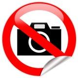 No photo camera sign royalty free stock images