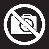 No photo icon stock illustration