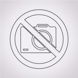 No photo icon vector illustration