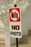 No photo label Royalty Free Stock Photos