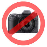 No photography allowed Royalty Free Stock Images