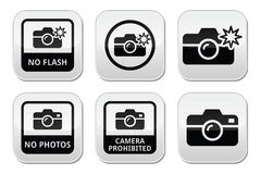 No photos, no cameras, no flash buttons Royalty Free Stock Photos
