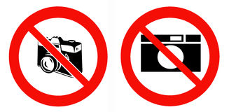 NO photos Royalty Free Stock Photo