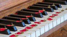 No piano music Royalty Free Stock Image