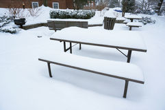 No Picnic Today Royalty Free Stock Photography