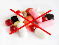 No pills Stock Photography