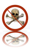 No piracy symbol Royalty Free Stock Image