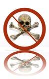 No piracy symbol royalty free stock image