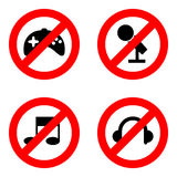 No play icons set great for any use. Vector EPS10. Stock Images