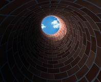 No poço profundo Foto de Stock