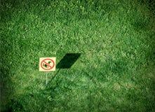 No pooping! Royalty Free Stock Image