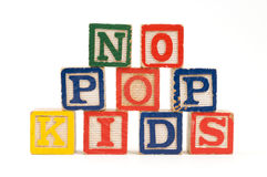 No Pop Kids Royalty Free Stock Photography
