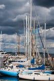 No porto Foto de Stock Royalty Free