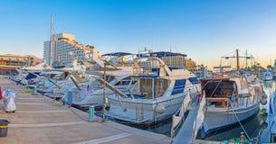 No porto de Eilat Fotografia de Stock