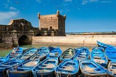 No porto de Essaouira imagem de stock royalty free