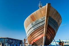 No porto de Essaouira fotos de stock