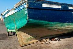 No porto de Essaouira foto de stock royalty free