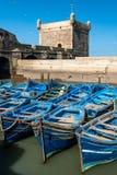 No porto de Essaouira imagens de stock royalty free