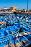 No porto de Essaouira imagens de stock
