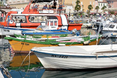 No porto de Rovinj Imagens de Stock Royalty Free