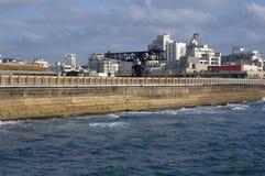 No porto de Telavive imagem de stock