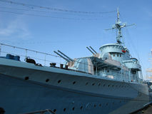 No porto militar Foto de Stock Royalty Free