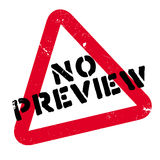 No Preview rubber stamp Stock Photo