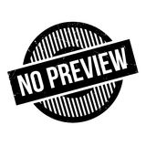 No Preview rubber stamp Stock Image