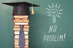 NO PROBLEM. Funny education concept Royalty Free Stock Photos
