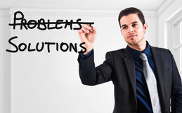 No problems royalty free stock images