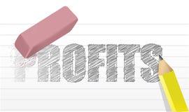 No profits questions concept illustration design Stock Photo
