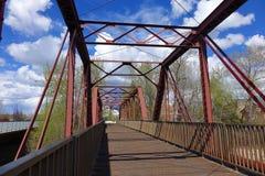 9no puente de la calle - Boise, Idaho Foto de archivo libre de regalías
