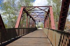 9no puente de la calle - Boise, Idaho Imagenes de archivo