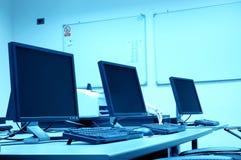 No quarto de computador Fotos de Stock