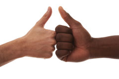 No racial issues Stock Images