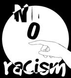 No Racism Concept Design Stock Images