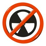 No radioactive Stock Photography