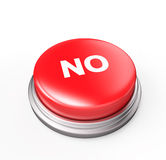 No Red Button Royalty Free Stock Photos