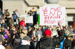 No refugee's Stock Images