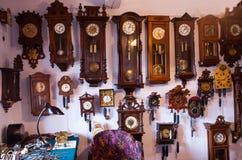 No relojoeiro idoso Fotografia de Stock