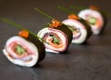 No-Rice Sushi Roll Stock Images